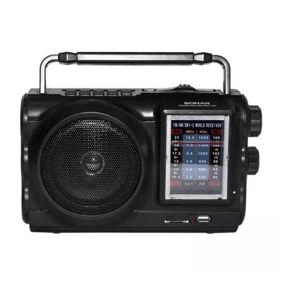 SONAR วิทยุ รุ่น HHL-331 สีดำ