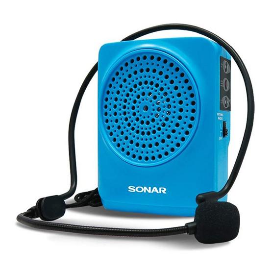 SONAR วิทยุขยายเสียงแบบพกพา รุ่น MA-916 สีน้ำเงิน