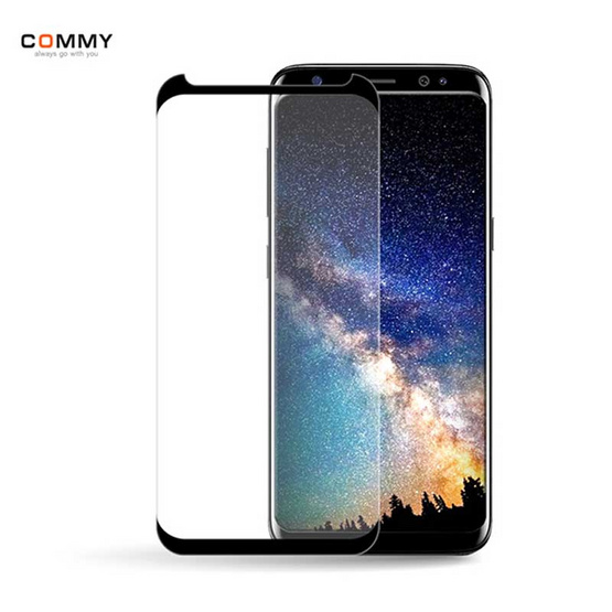 Commy กระจกกันรอย TPG 3D Samsung Galaxy S8 Version.2
