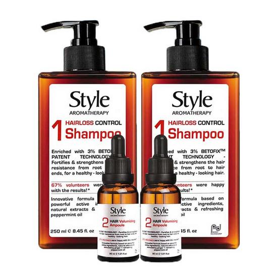 STYLE Double Betofix Shampoo and Ampoule Serum Set B