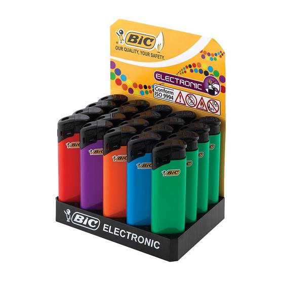 ไฟแช็ค XP2 แต่ละถาดบรรจุ 20 ชิ้น (คละสี)