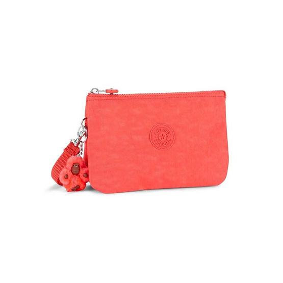 กระเป๋าคล้องมือ Kipling Creativity XL - Galaxy Orange