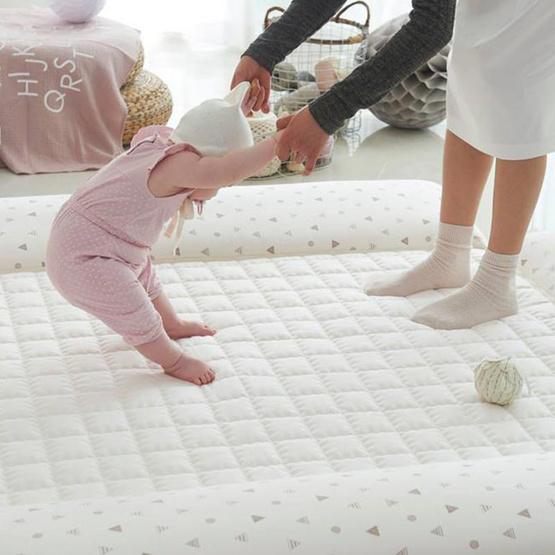 Creambed ที่นอนเด็ก ลาย Milk Brown ขนาด XL