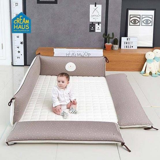 Creambed ที่นอนเด็ก ลาย Cream ขนาด XL