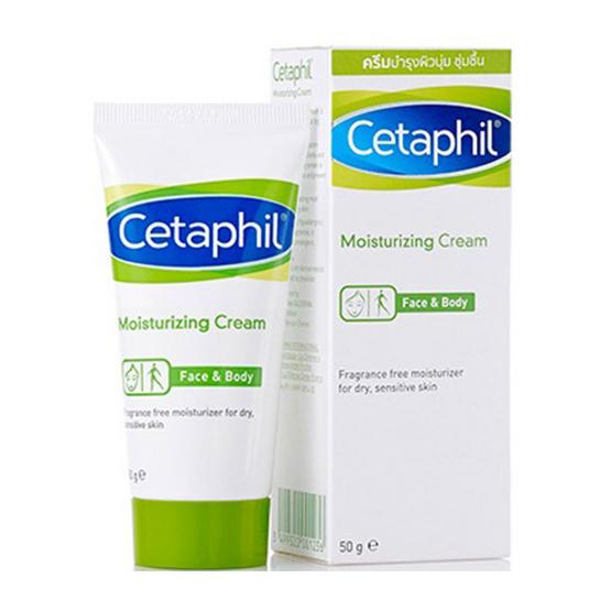Cetaphil ครีมบำรุงผิว Moisturizing Cream 50 กรัม