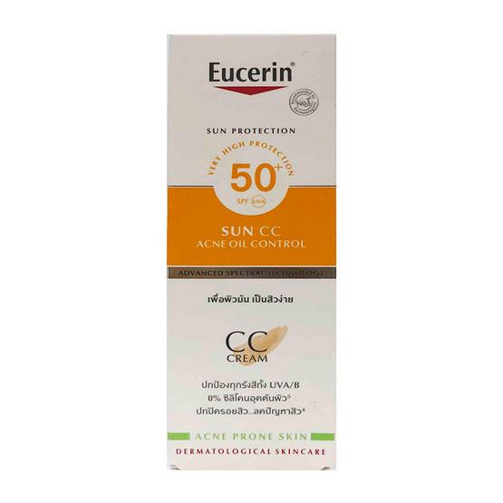 Eucerin Sun CC Acne Oil Control 50 ml