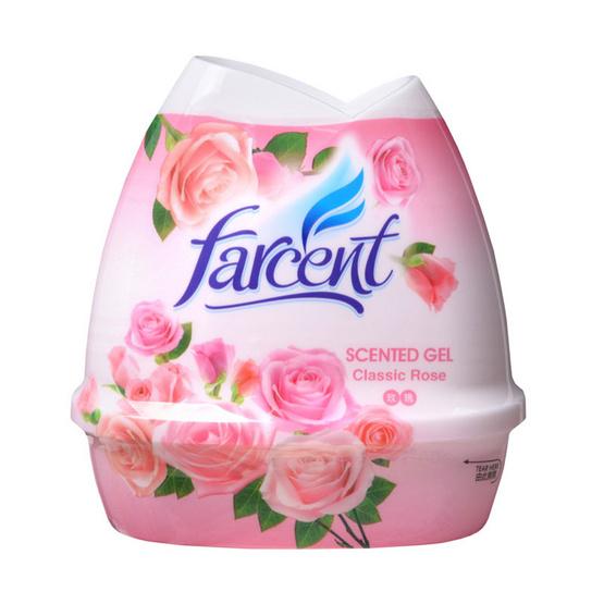 Farcent เจลปรับอากาศ เซ็นท์เต็ด กลิ่นกุหลาบ 200 กรัม แพ็ก 3