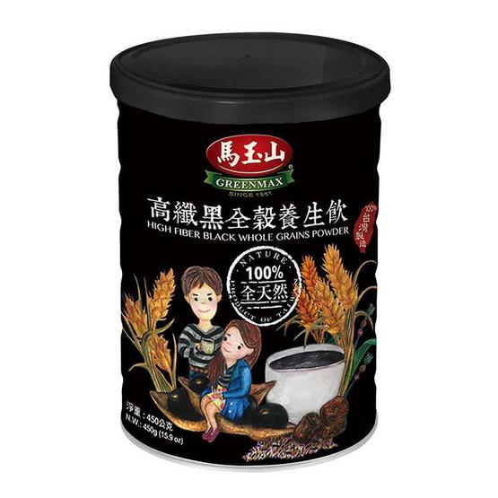 กรีนแมกซ์ เครื่องดื่มธัญพืชรวมชนิดผง แบบกระป๋อง สีดำ