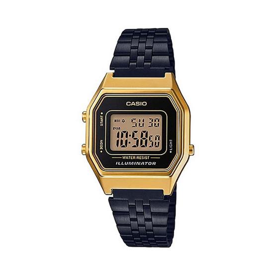 Casio นาฬิกาข้อมือผู้หญิง รุ่น LA680WGEB-1ADF