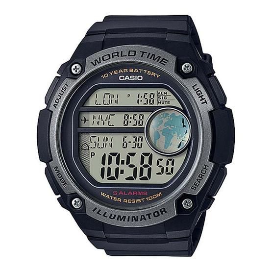Casio นาฬิกาข้อมือผู้ชาย รุ่น AE3000W-1AVDF