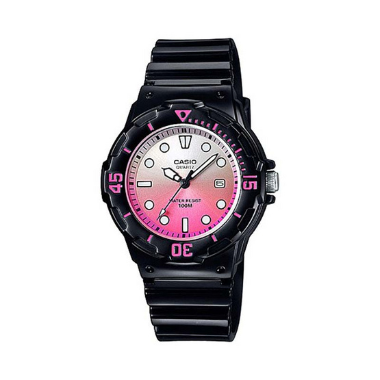 Casio นาฬิกาข้อมือผู้หญิง รุ่น LRW200H-4EVDF