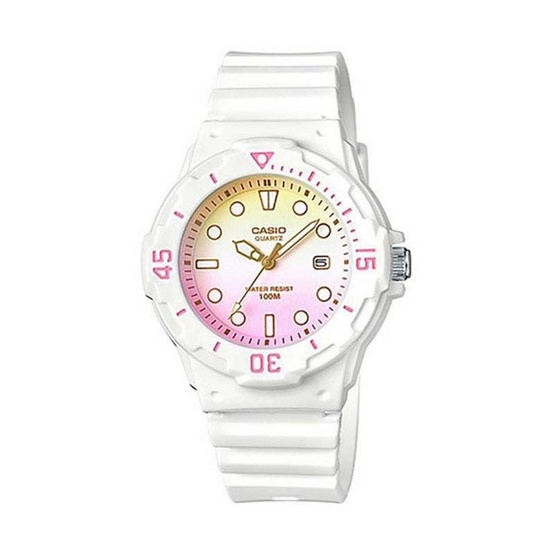 Casio นาฬิกาข้อมือผู้หญิง รุ่น LRW200H-4E2VDF