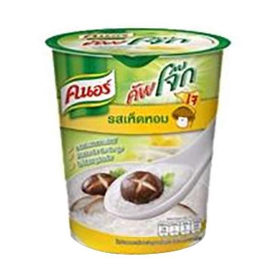 คนอร์ คัพโจ๊กถ้วย รสเห็ดหอม 35 กรัม (แพ็ค 6)