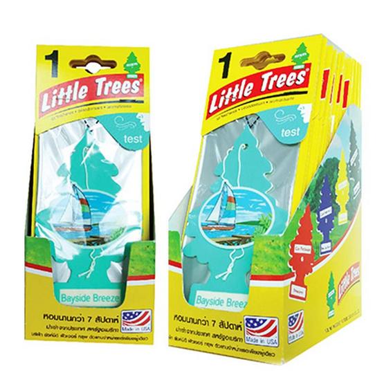 Little Tree แผ่นน้ำหอม แบบแพ็ค (12 ชิ้น/1 แพ็ค)