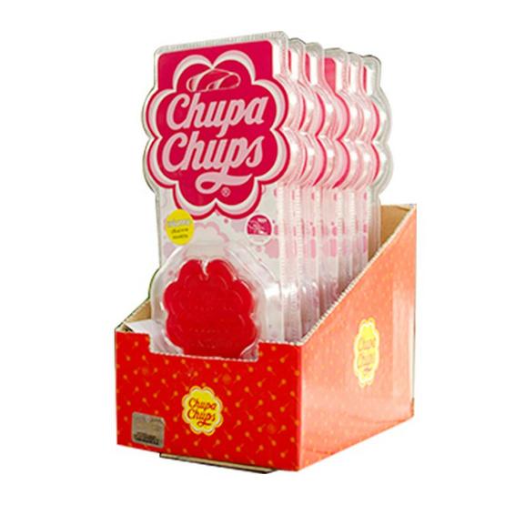 Chupa Chups ซิลิโคนหอมปรับอากาศแขวนในรถยนต์ แบบแพ็ค (6 ชิ้น/1 แพ็ค)