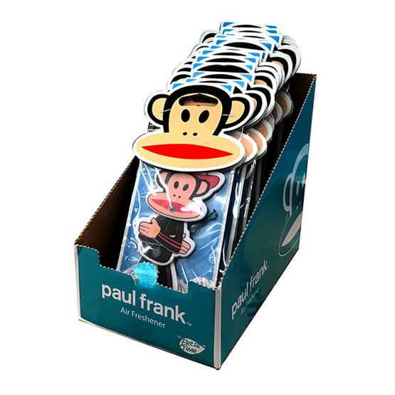 Paul Frank Fresh time แผ่นน้ำหอมปรับอากาศ แบบแพ็ค (12 ชิ้น/1 แพ็ค)