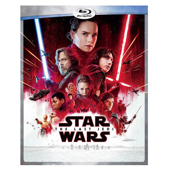 Blu-ray Star Wars The Last Jedi สตาร์ วอร์ส ปัจฉิมบทแห่งเจได
