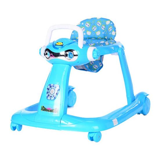 ชูชอบ รถช่วยพยุงตัวเด็ก ปรับให้ลากเข็นได้ สีฟ้า คละลาย รุ่น 631