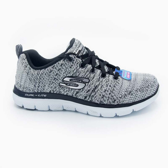 SKECHERS รองเท้าผู้หญิง รุ่น FLEX APPEAL 2.0  HIGH ENERGY 12756 / WBK
