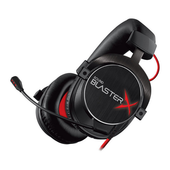 Creative Gaming Headset Blaster X H7 Tournament Edition