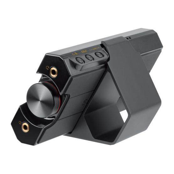 Creative Sound Blaster E5 External