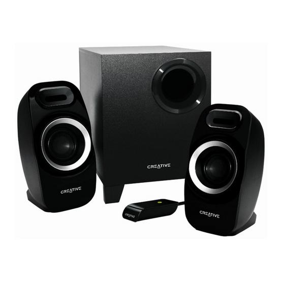 Creative Speaker SBS Inspire T3300 2.1 Channel BK