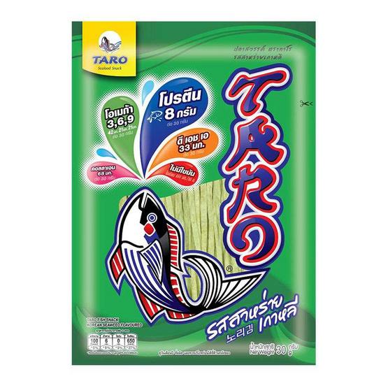 ทาโร สาหร่ายเกาหลี 25 กรัม (12ชิ้น)