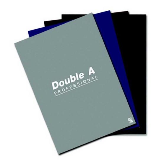 Double A สมุดรายงาน A4 70 แกรม 50 แผ่น มีเส้น (แพ็ค 4 เล่ม)