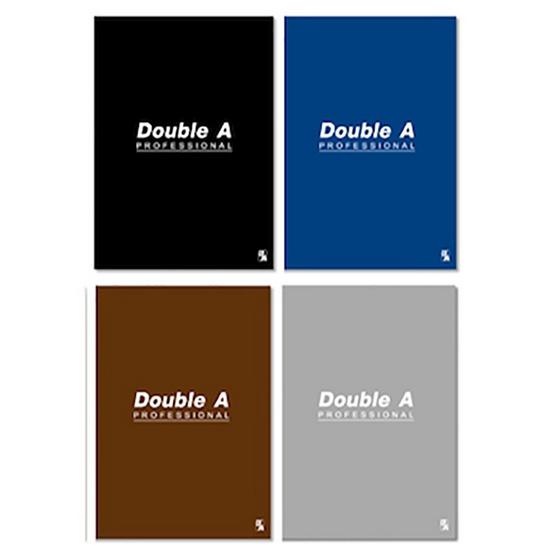 Double A สมุดบันทึก B5 70 แกรม 50 แผ่น มีเส้น (แพ็ค 4 เล่ม)