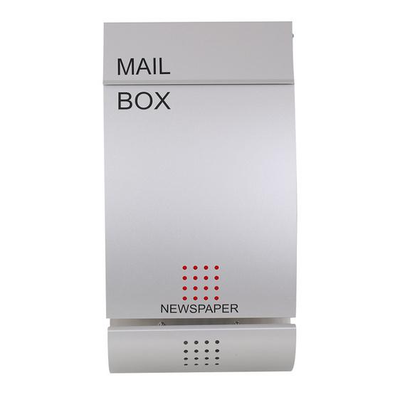 Boxandco ตู้จดหมายแบบแขวนผนัง รุ่น  MB4502
