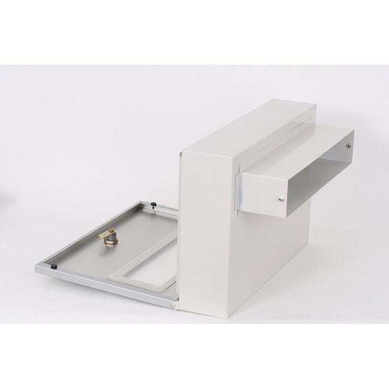 Boxandco ตู้จดหมายแบบฝังกำแพง รุ่น MB-5206 (Stainless)