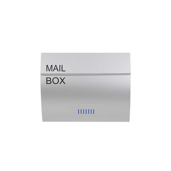 Boxandco ตู้จดหมายแบบฝังกำแพง รุ่น MB0310PP (Silver)