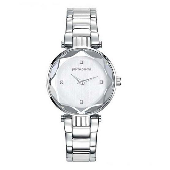 Pierre Cardin นาฬิกาข้อมือ รุ่น PC107902F04 สีเงิน