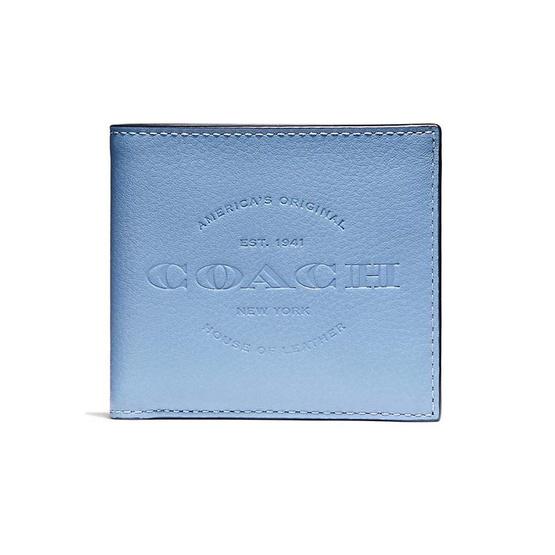 กระเป๋าสตางค์ COACH F24647 DOUBLE BILLFOLD WALLET (L75) [MCF24647L75]