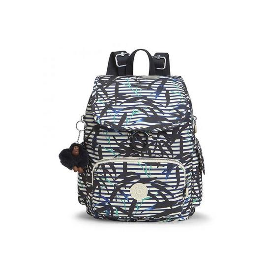 กระเป๋าเป้ Kipling City Pack S - Bamboo Stripes [MCK1563541G]