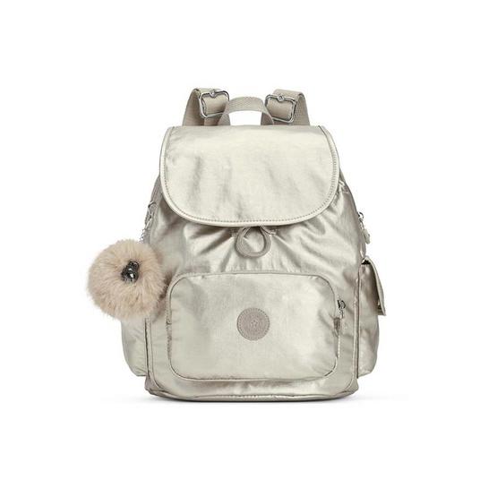 กระเป๋าเป้ Kipling City Pack S - Silver Beige [MCK1564102R]