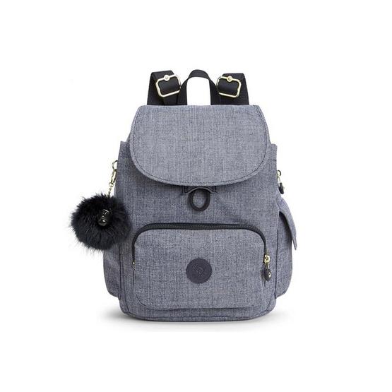 กระเป๋าเป้ Kipling City Pack S - Cotton Jeans [MCK15641F27]