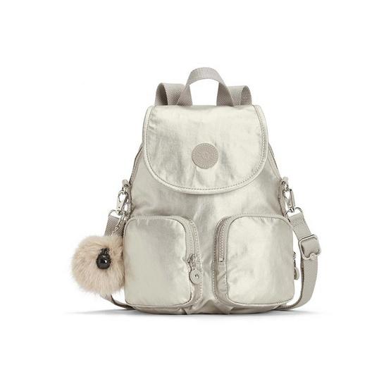 กระเป๋าเป้ Kipling Firefly UP - Silver Beige [MCK2351202R]