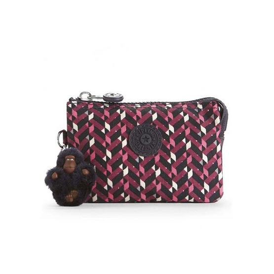 กระเป๋าอเนกประสงค์ Kipling Creativity S - Pink Chevron [MCK01864K05]
