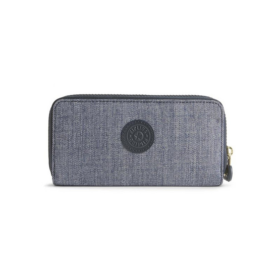 กระเป๋าสตางค์ Kipling Uzario - Cotton Jeans [MCK13198F27]