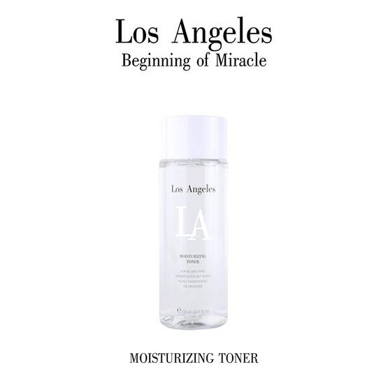 ถูกสุดๆ LA Los Angeles Moisturizing Toner 110 ml หน้าขาวขึ้นทันตาเห็น