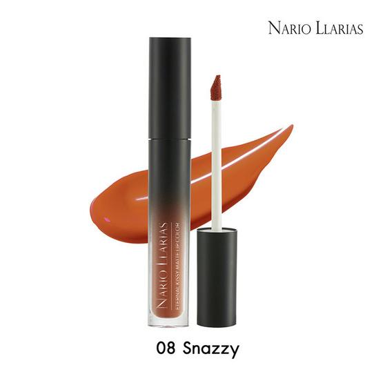 NARIO LLARIAS Kissy Matte Lip Color Snazzy