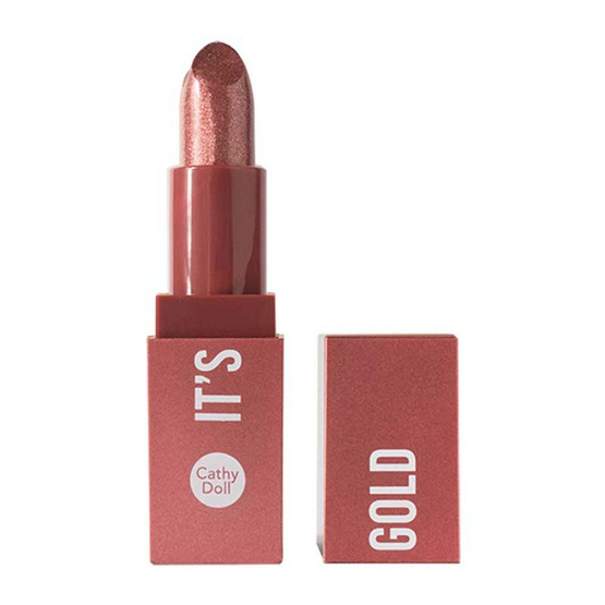 Cathy Doll Gold Lipstick 05 Rose Gold  3.2g