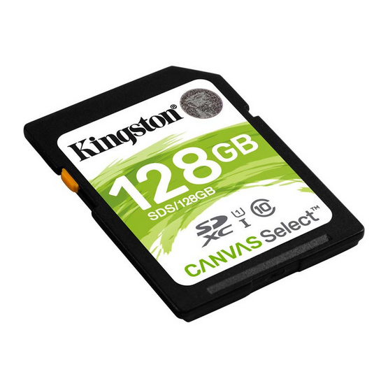 Kingston Canvas Select SDHC Memory Card 128GB