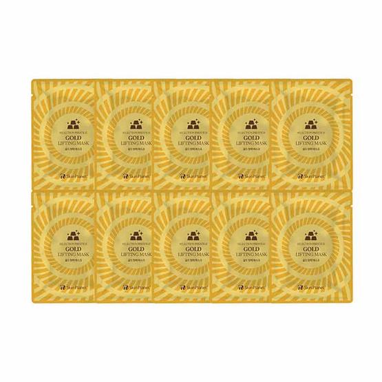 ใช้ดีไหมค่ะ Skin Planet Selection Prestige Gold Lifting Mask (10 Pcs) มาส์กหน้าใสแบบเกาหลี