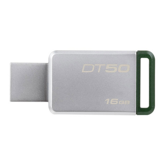 Kingston Flash Drive USB3.1 Gen1 DT50 16 GB