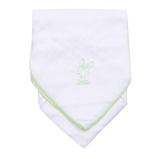 Little Wacoal ผ้าอ้อม BAMBOO 30 x 30 นิ้ว 6 ผืน สีขาว ปักลายสีเขียว