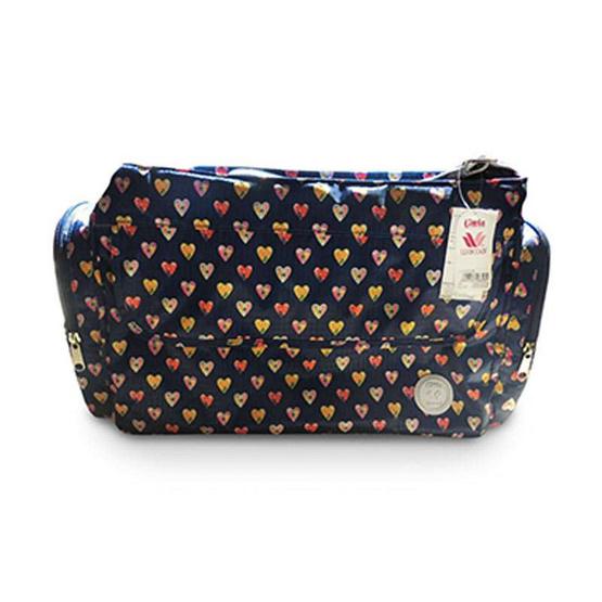Little Wacoal กระเป๋าคุณแม่เก็บความร้อน ลายหัวใจ