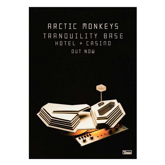 CD Arctic Monkeys Album Tranquility Base Hotel&Casino
