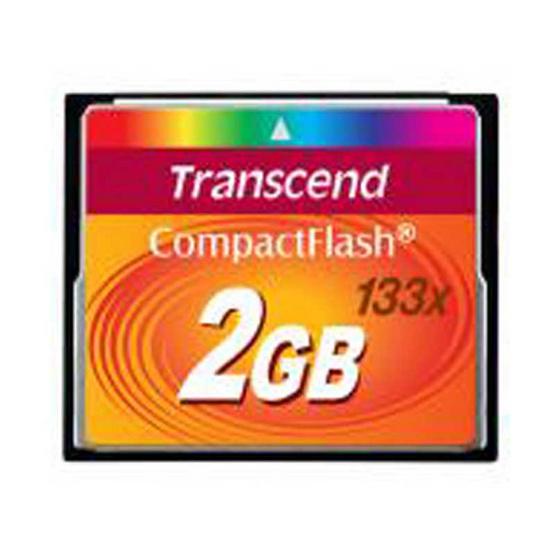 TRANSCEND CF CARD 133x CompactFlash (Standard) 2GB